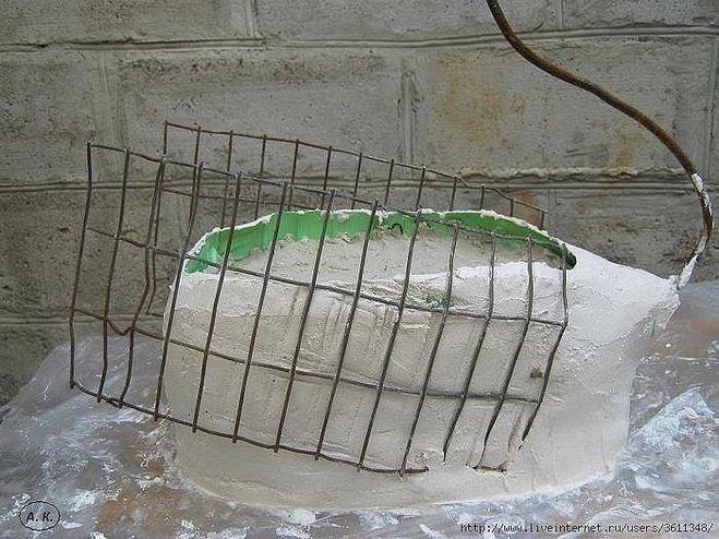 Лебеди кашпо для сада своими руками