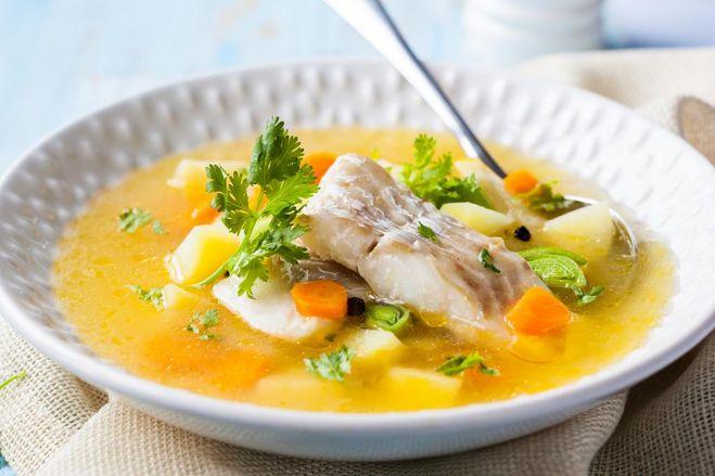 рыбный суп из вомера