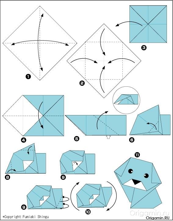 Поделки из бумаги своими руками схемы для мам