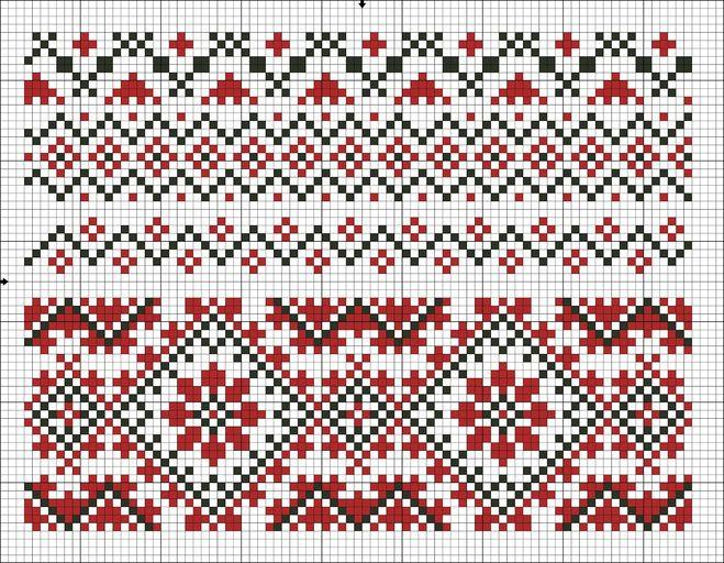 и белорусская вышивка