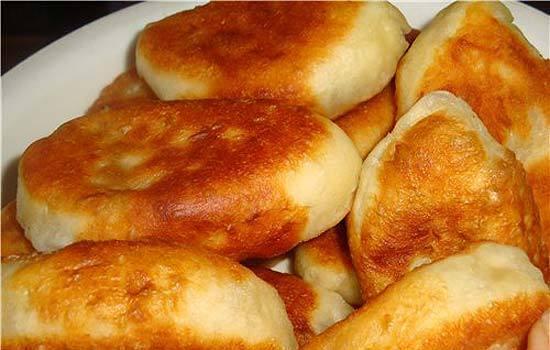 жареные пирожки с картошкой на сковороде рецепт