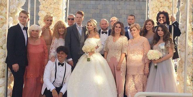 Пугачева на свадьбе внука