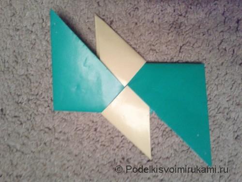 Звездочки ниндзя из бумаги