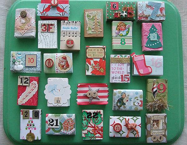 Оригинальные адвент-календари для новогодних сюрпризов своими