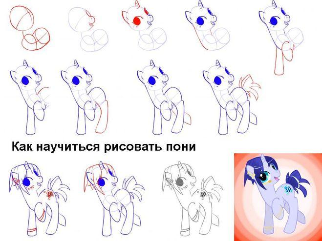 Как сделать для пони крылья