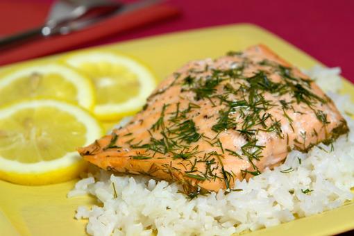Рыба в фольге с рисом в духовке рецепты с фото