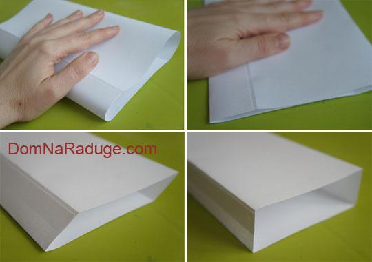 Как сделать маленькие пакетики из бумаги
