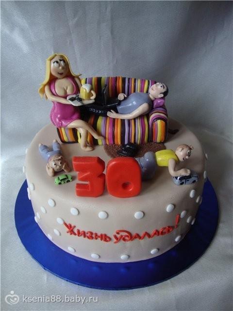 Торт на 7 лет в домашних условиях