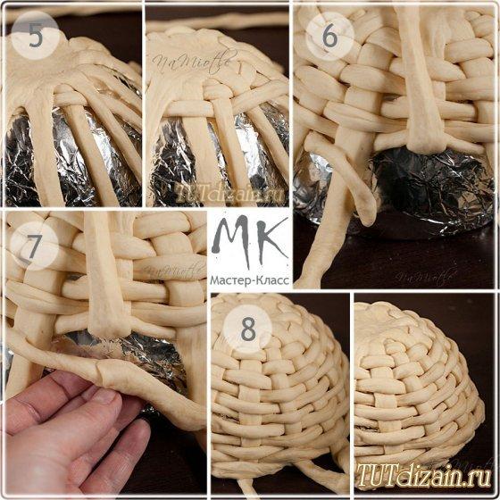 Плетение на пирожках