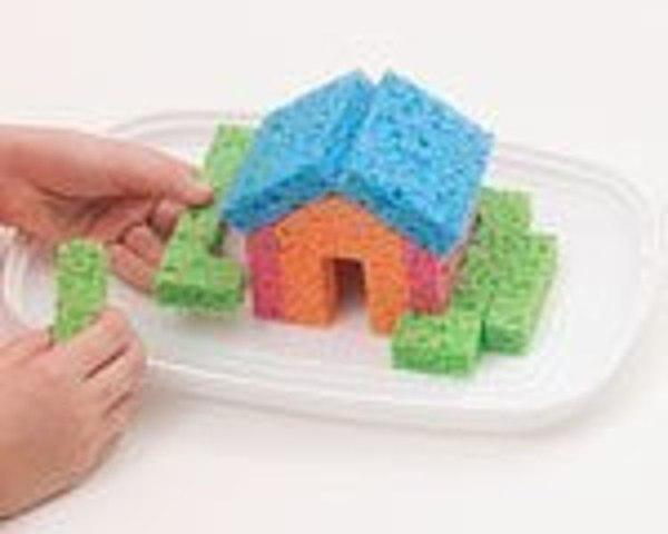 Торт из губки для мытья посуды своими руками фото 461