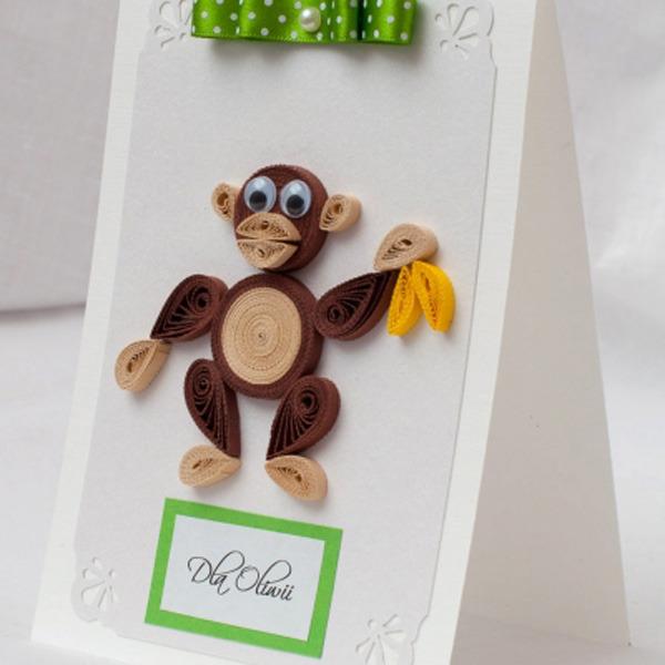 Открытки своими руками на год обезьянки