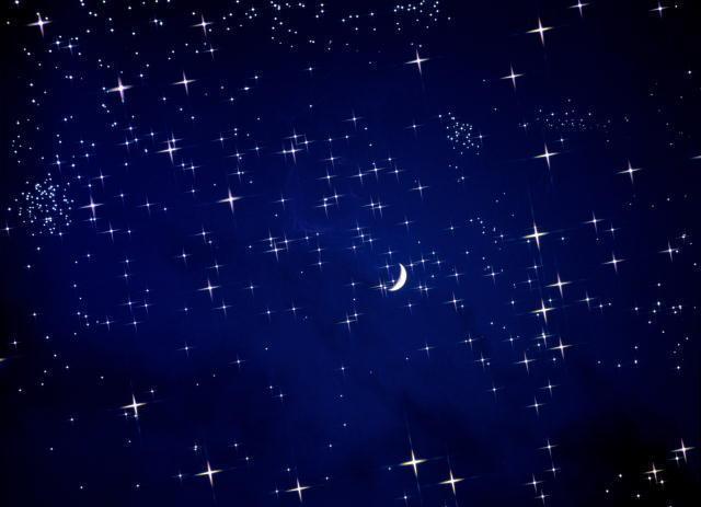 анимация звезд