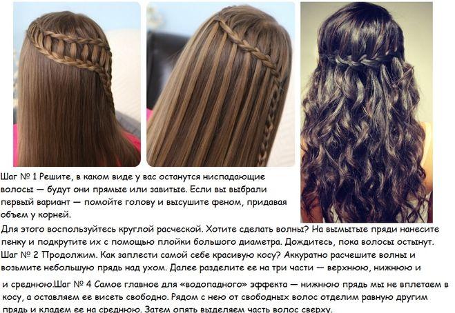 прически на длинные волосы наверху