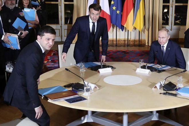 Фото со встречи глав государств