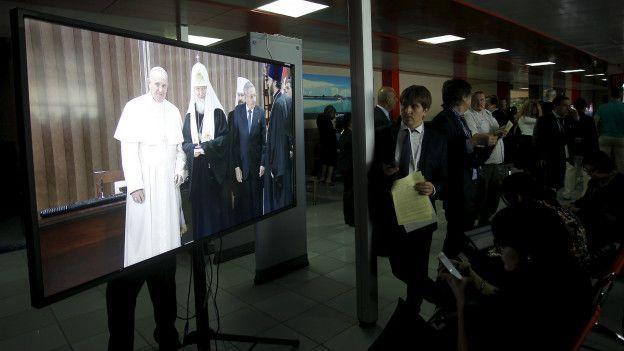 патриарх Кирилл и папа римский Франциск, Ватикан, Московская патриархия