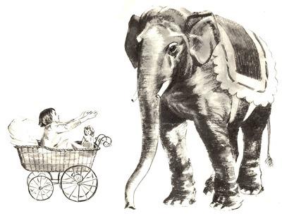 """Куприн """"Слон"""": вопросы по содержанию. Какие картинки нарисовать к вопросам?"""