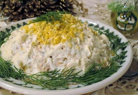 Как приготовить салат Причуда