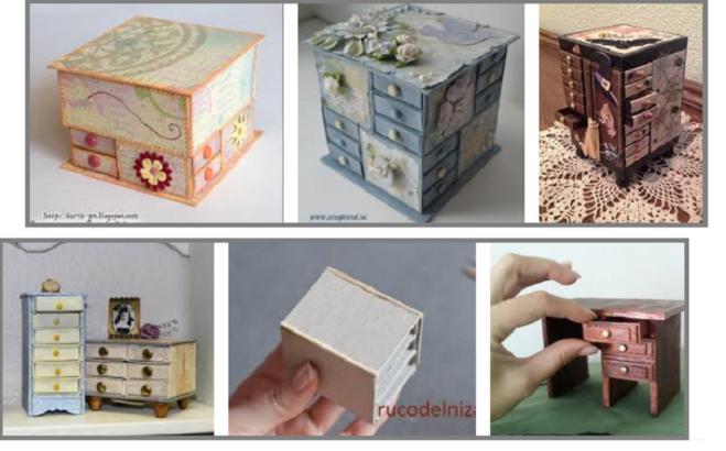 Мебель из спичечных коробков своими руками инструкция 8