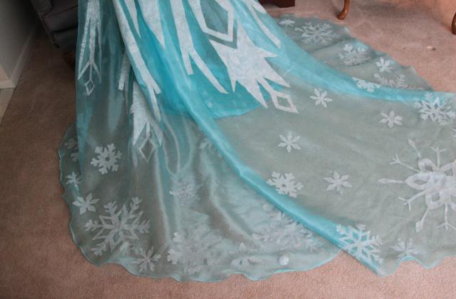Платье эльза своими руками