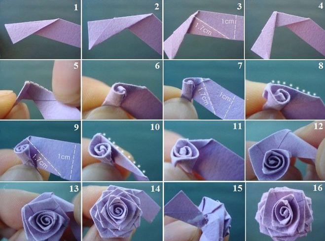 Как сделать цветок своими руками из обычной бумаги
