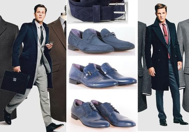 Мужские ботинки с чем носить