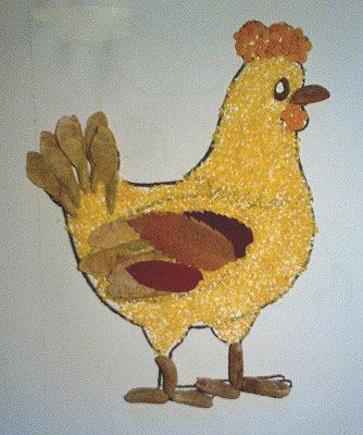 Как сделать курицу из крупы по технологии 2 класс