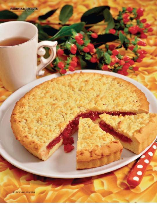 Как сделать вкусный пирог с вареньем