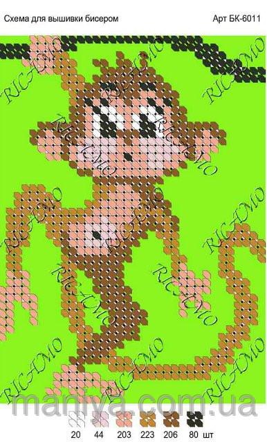 такую схему с обезьянкой,