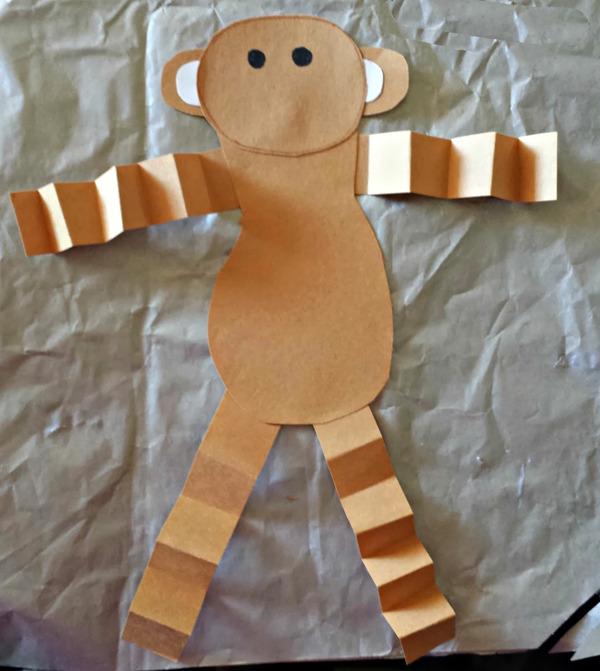 Как сделать символ года своими руками обезьяна