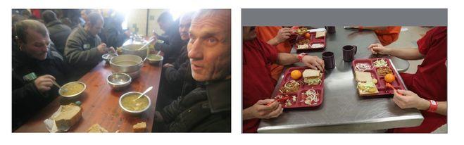 питание в американской тюрьме, питание в российской тюрьме, меню американского зека