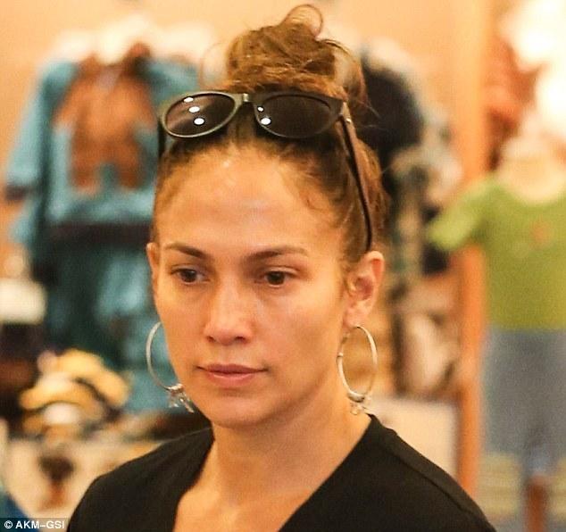 Дженнифер лопез без макияжа
