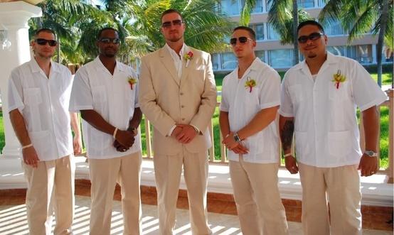 кубинская рубашка гуяберу фото