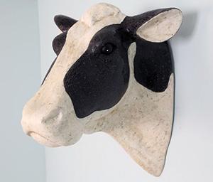 Голова коровы символ Нового года 2021 своими руками сувенир, подарок, поделка?