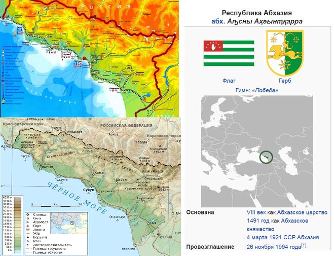 Входит ли Абхазия в состав России как пересечь границу