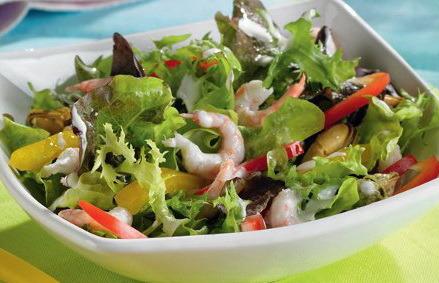 Рецепты салатов с морепродуктами с фото