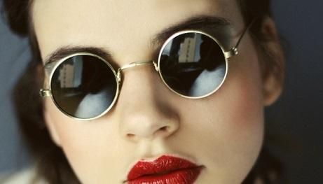 солнцезащитные очки в круглой оправе, мода 2015