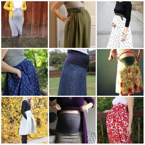 Сшить своими руками юбку для беременных своими руками 8