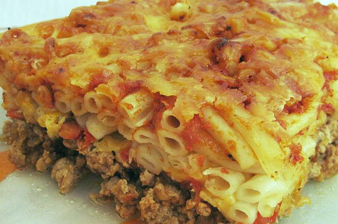 Рецепт фарша с макаронами в духовке рецепт