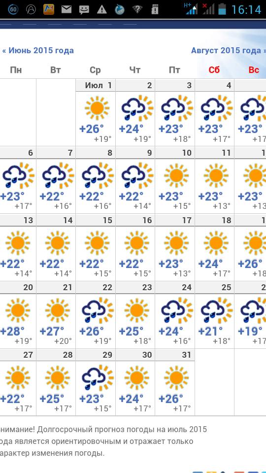 Прогноз погоды в Минске на июнь 2018 года - подробный. - Погода