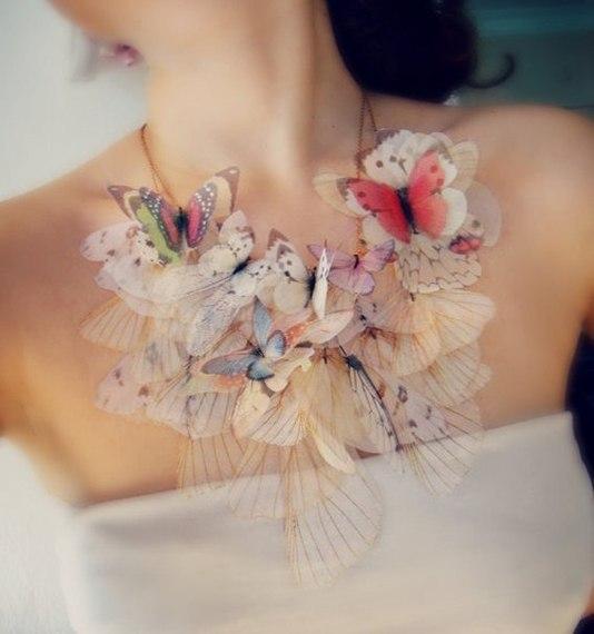 Бабочки из органзы своими руками