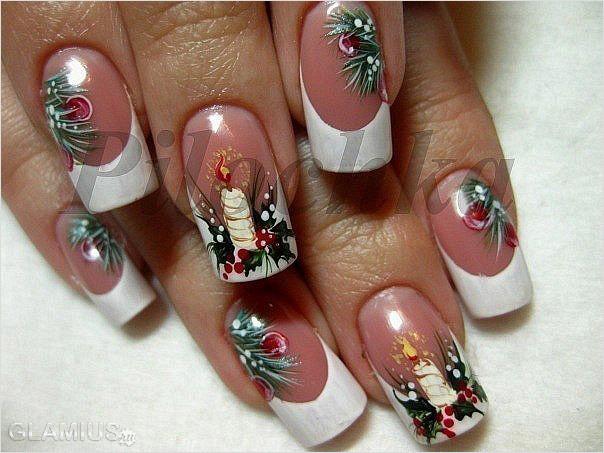 Фото ногтей дизайн новый год