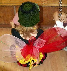 Крылья мухи цокотухи своими руками