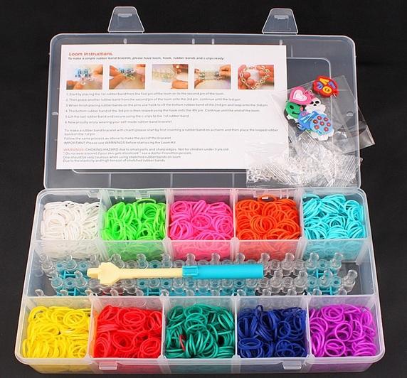 Наборы для плетения резинками фото