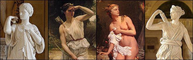 богиня Артемида Диана изображения