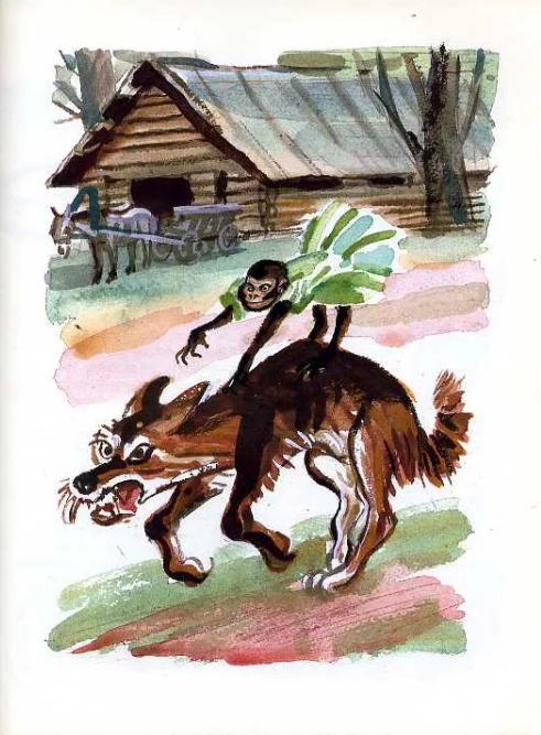 Житков Про обезьянку. Как разделить рассказ на смысловые части, озаглавить?
