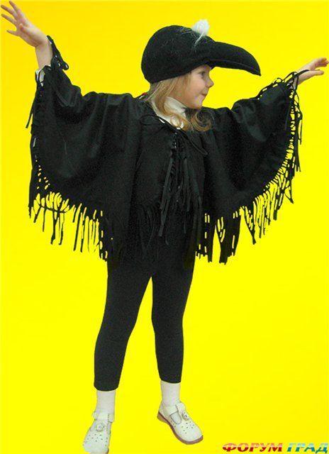 Фото костюма вороны своими руками 995