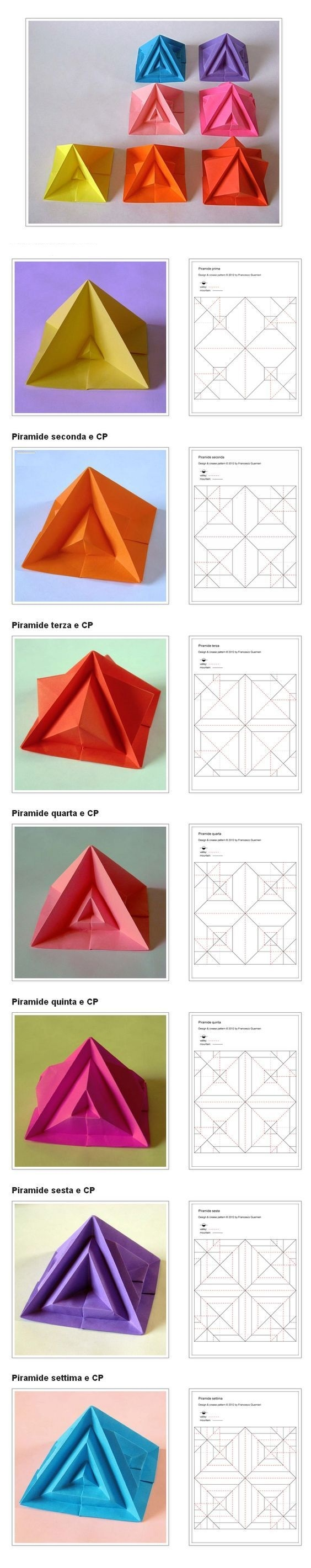 Геометрические фигуры из бумаги схемы звезда 4