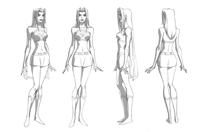 Как нарисовать девушку поэтапно карандашом  MegaMasterinfo