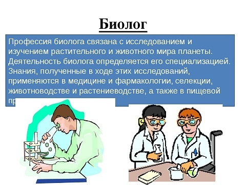 Чем полезна профессия биолог