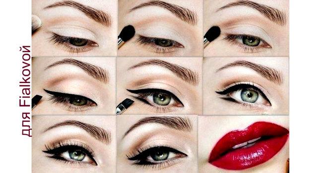 Как можно сделать легкий макияж